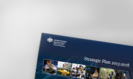 View the DSTO 2013/14 strategic plan