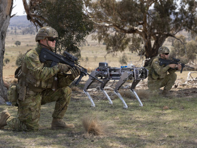 Australian soldiers are exploring the use of robotic and autonomous systems to enhance Army capabilities.