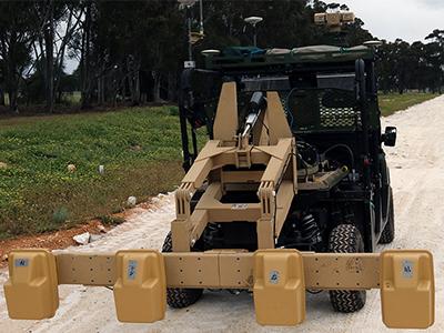 The Polaris vehicle and sensor.