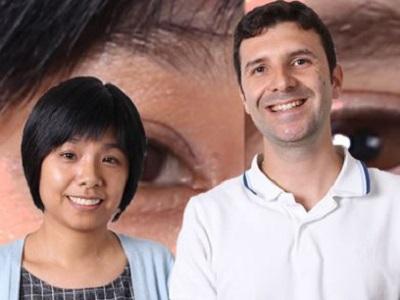 Sau Yee Yiu and Dmitri Kamenetsky are both members of DST's biometrics research team.