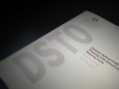 The cover of a scientific report