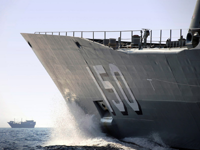 Picture of Australian Navy Fleet ship, HMAS Anzac