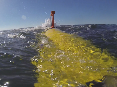 Image os a submarine utilising autonomous systems