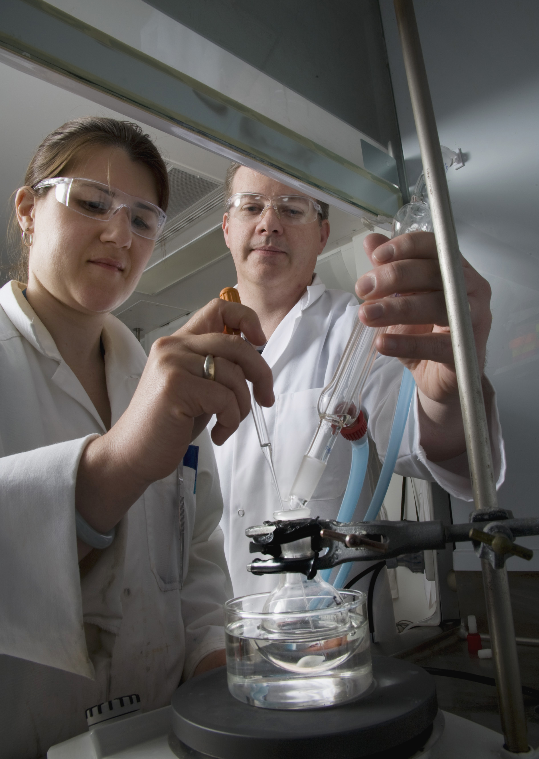 DSTO researchers are using mass spectrometry, the science of weighing molecules and their fragments to identify the elements and the chemical structure of molecules in a chemical sample, to investigate the structure and stability of molecular species and to reveal the way molecules interact. Potential of mass spectrometry for Defence includes hazard management and identifying new and improved applications to analyse different chemical samples.