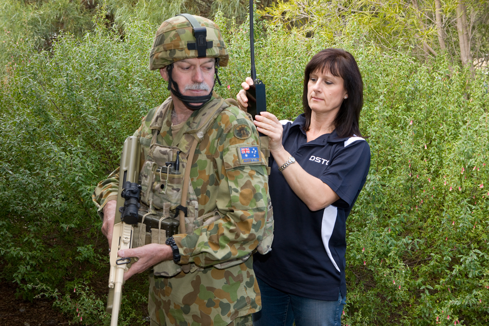 DSTO supports ADF operations by providing rapid technology solutions for deployed personnel.