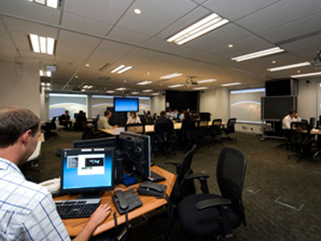 The Joint Decision Support Centre in Canberra