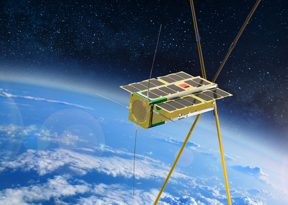 Cubesat bspace launch