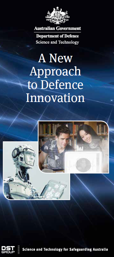 brochure image for 'A New Approach to Defence Innovation'