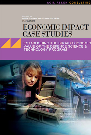 Cover of the ACIL Allen report