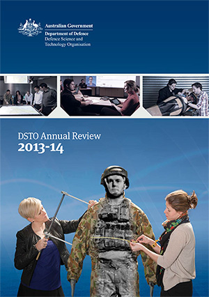 Cover of DSTO Annual Review 2013-14
