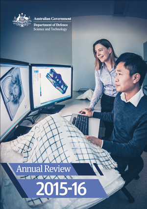 Cover of the DST Group Annual Review 2015-16