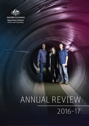 Cover of the DST Group Annual Review 2016-17