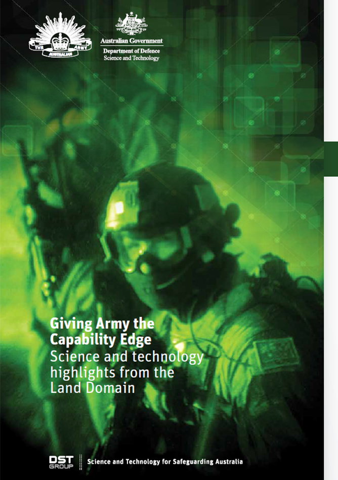 Giving Army the Capability Edge - Science and technology highlights from the Land Domain