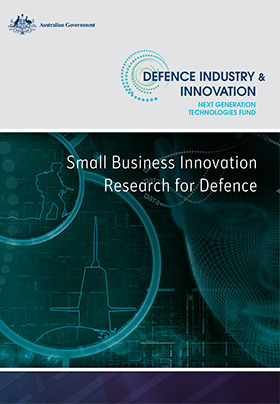 Next Gen Tech Fund - Small Business Innovation Research for Defence program