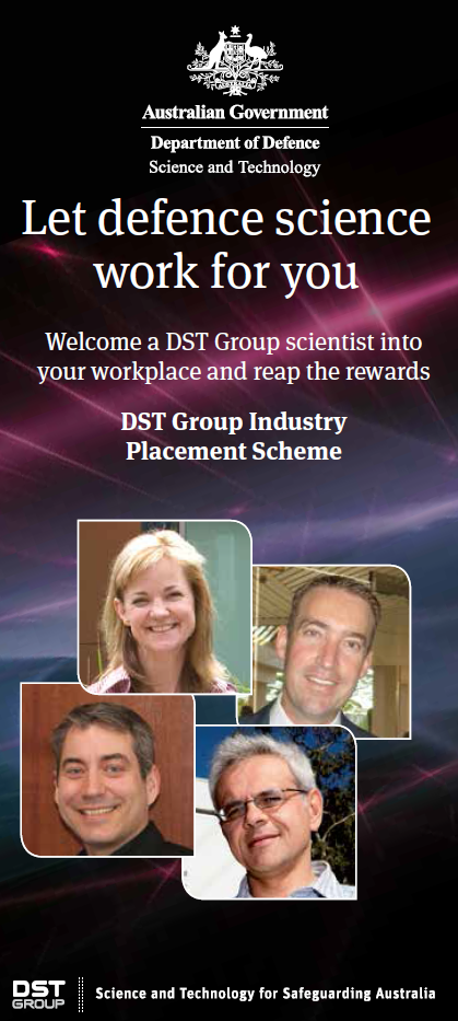 Brochure image for 'Let defence science work for you'