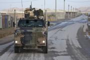 Bushmaster armoured vehicle.