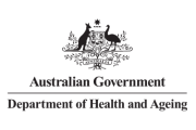 The Department of Health and Ageing logo