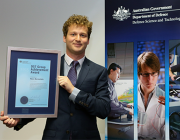 Huon received the DST Group Early Career Achievement award at a ceremony in Canberra in December 2015.