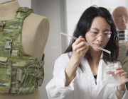 Jie Ding examines electrolyte material that can function as both battery component and body armour.