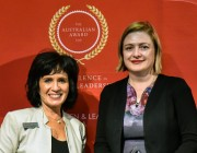 CDS Tanya Monro has won the South Australia Award for Excellence in Women's Leadership.