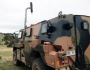 The vision technology system on a defence land vehicle.