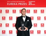 Award winner Mr Tim Lyons of Western Australia-based company One Atmosphere.