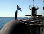 Picture of a Collins Class submarine housing the latest miltary technology
