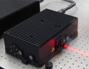 A laser.