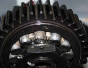 A component of a gearbox.