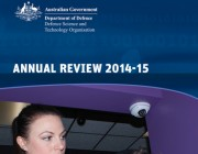 Cover of the DSTO Annual Review 2014-15