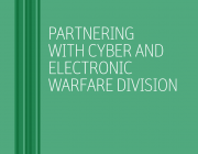DST Cyber and Electronic Warfare Division brochure identity