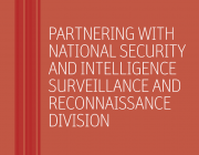 DST National Security and Intelligence Surveillance and Reconnaissance Division brochure identity