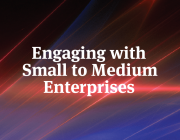 Thumbnail with words 'Engaging with Small to Medium Enterprises'