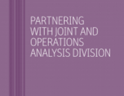 Thumbnail for 'Partnering with Joint and Operations Analysis Division' brochure
