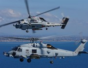 Two MH-60R helicopters.