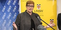 Minister for Defence Senator the Hon Marise Payne.